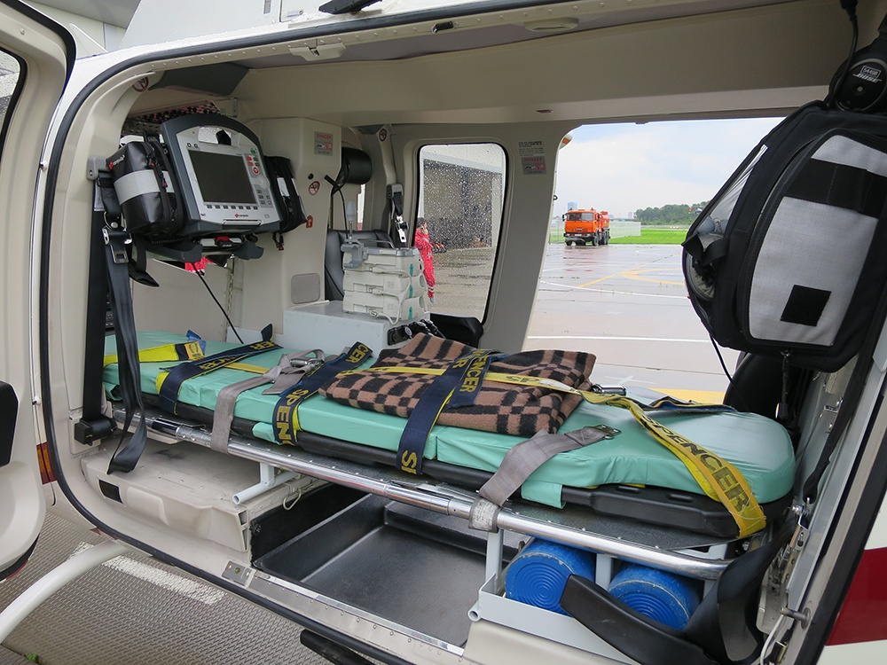 Для медицинской эвакуации в распоряжении GVA есть санитарная авиация