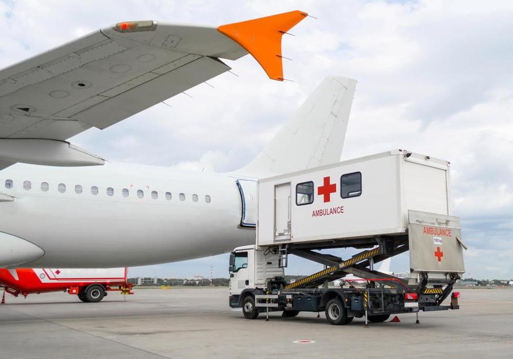 Air ambulance GVA