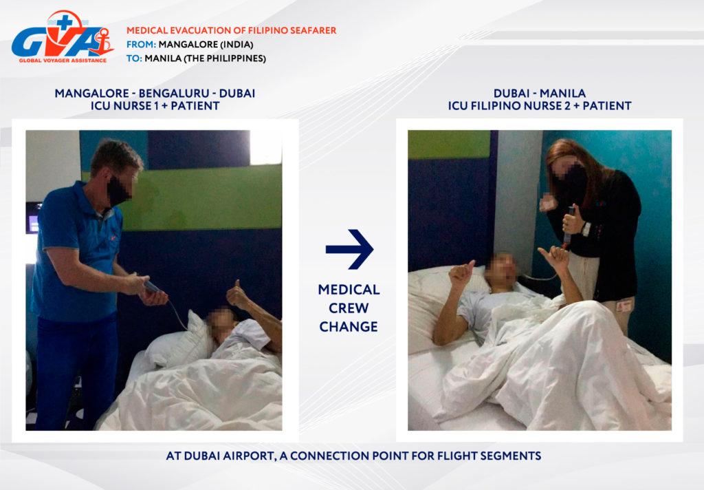 Medical Evacuation to Manila from India